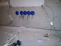 Электромонтажные работы в квартирах новостройках в Междуреченске. Электромонтаж компанией Русский электрик