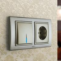 Установка выключателей в Междуреченске. Монтаж, ремонт, замена выключателей, розеток Междуреченск.